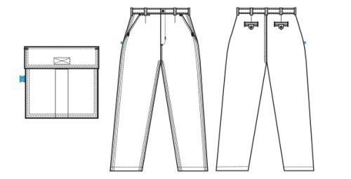 Pantalón de Trabajo OMBU