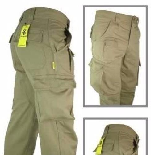 Pantalón Cargo Reforzado con Recortes PAMPERO
